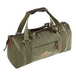 Joe Browns - Khaki canvas holdall bag