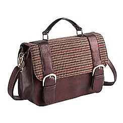 Joe Browns - Multi coloured ultimate tweedy bag