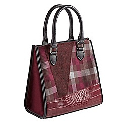 Joe Browns - Plum unique and quirky tote bag