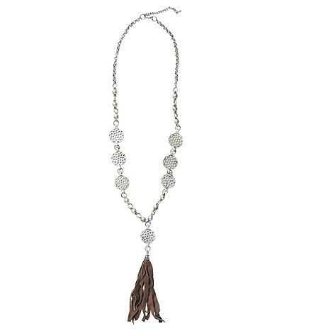 Joe Browns - Multi coloured tassel necklace