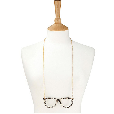 Joe Browns - Multi coloured quirky spectacle necklace