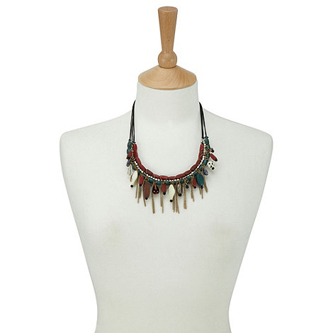 Joe Browns - Red wonderful wooden necklace