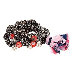 Joe Browns - Black 4/pk ethnic beads
