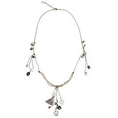 Joe Browns - Metallic beautiful charm necklace