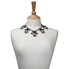 Joe Browns - Blue brilliant jewelled necklace