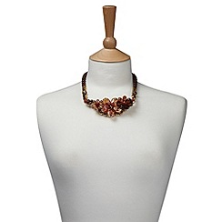 Joe Browns - Brown remarkable necklace