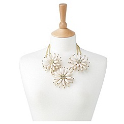 Joe Browns - Cream wow statement necklace