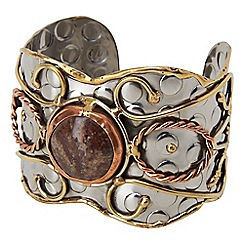 Joe Browns - Multi coloured remarkable stone cuff