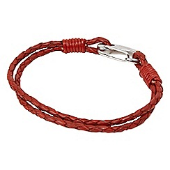 Joe Browns - Red tribal hook bracelet