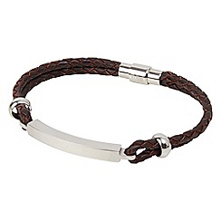 Joe Browns - Brown tribal bar bracelet