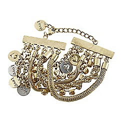 Joe Browns - Bronze remarkable charm bracelet
