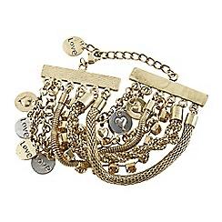Joe Browns - Bronze remarkable charm bracelet