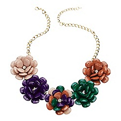 Joe Browns - Multi coloured stunning flower necklace