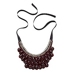 Joe Browns - Red remarkable bib necklace
