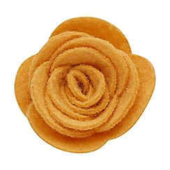 Joe Browns - Yellow felt flower pin