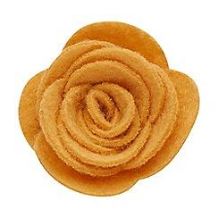 Joe Browns - Yellow felt flower pin