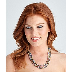 Joe Browns - Multi coloured sensational stacked sequin necklace