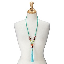 Joe Browns - Blue tropical lagoon necklace