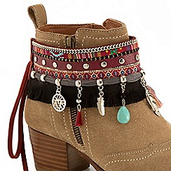 Joe Browns - Multi coloured stunning boot cuffs