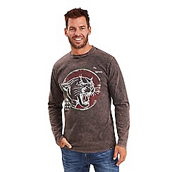 Joe Browns - Grey wild cat top