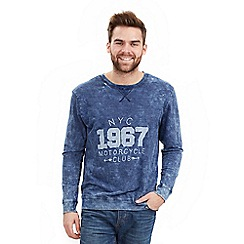 Joe Browns - Blue washed to perfection crew top