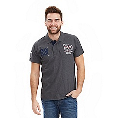 Joe Browns - Dark grey on the road polo top