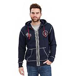 Joe Browns - Navy on the road zip through hoody