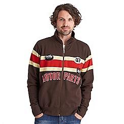 Joe Browns - Multi coloured saddleback zip through jacket
