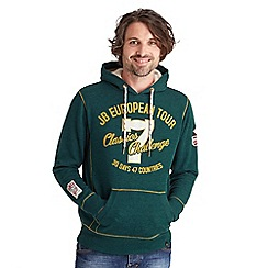 Joe Browns - Dark green european tour overhead hoody