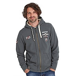 Joe Browns - Grey european bike zip through hoody