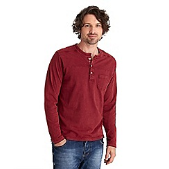 Joe Browns - Red biker henley top