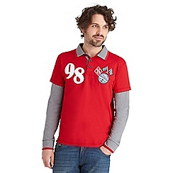 Joe Browns - Red british goods polo