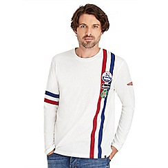 Joe Browns - White race away top