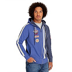 Joe Browns - Blue racing hoody