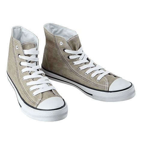 Joe Browns - Taupe hi top pump