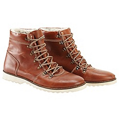 Joe Browns - Brown essential leather hiker boots