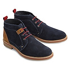 Joe Browns - Navy must have suede desert boots