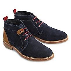 Joe Browns - Navy must have suede desert boots