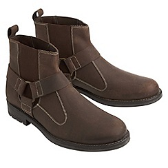 Joe Browns - Brown essential pull on leather boots