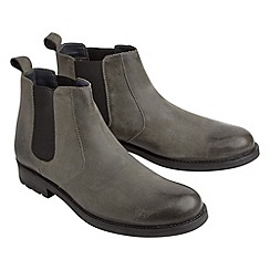 Joe Browns - Grey chunky chelsea boots