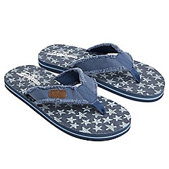 Joe Browns - Blue jb's flip flops