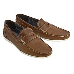 Joe Browns - Brown laid back leather loafers
