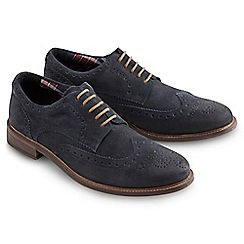 Joe Browns - Blue awesome acid wash brogues