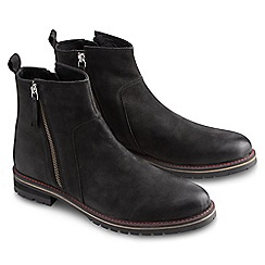 Joe Browns - Black laid back zip boots