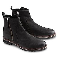 Joe Browns - Black laid back zip boots