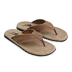 Joe Browns - Tan laid back days sandals