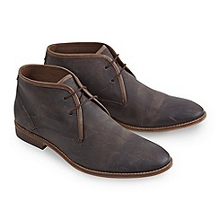 Joe Browns - Brown distressed leather boots
