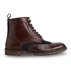 Joe Browns - Brown suede and leather boots