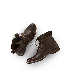 Joe Browns - Dark brown wear 'em in boots