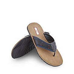 Joe Browns - Blue beach to bar leather sandals